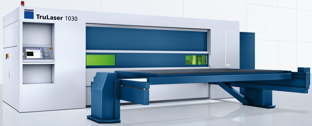 Our New Trumpf Fiber Laser Cutting Machine