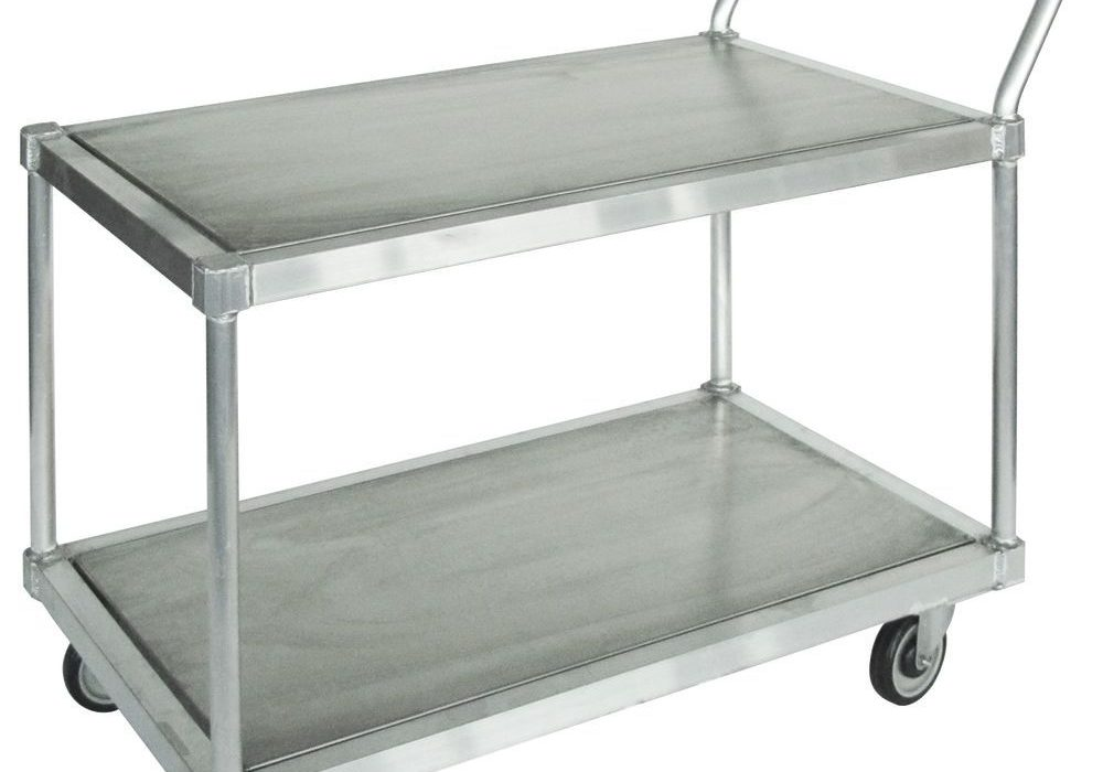 New Custom Aluminum Rolling Carts