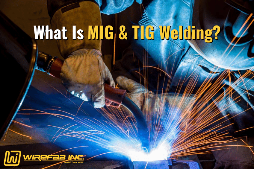 Wirefab Inc. - mig and tig welding, robotic welding, contract manufacturing services, seamless welding, aluminum wire forming